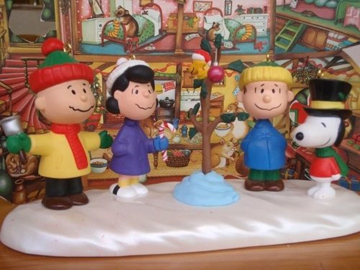 my favourite peanuts christmas ornaments 30th anniversary collectible