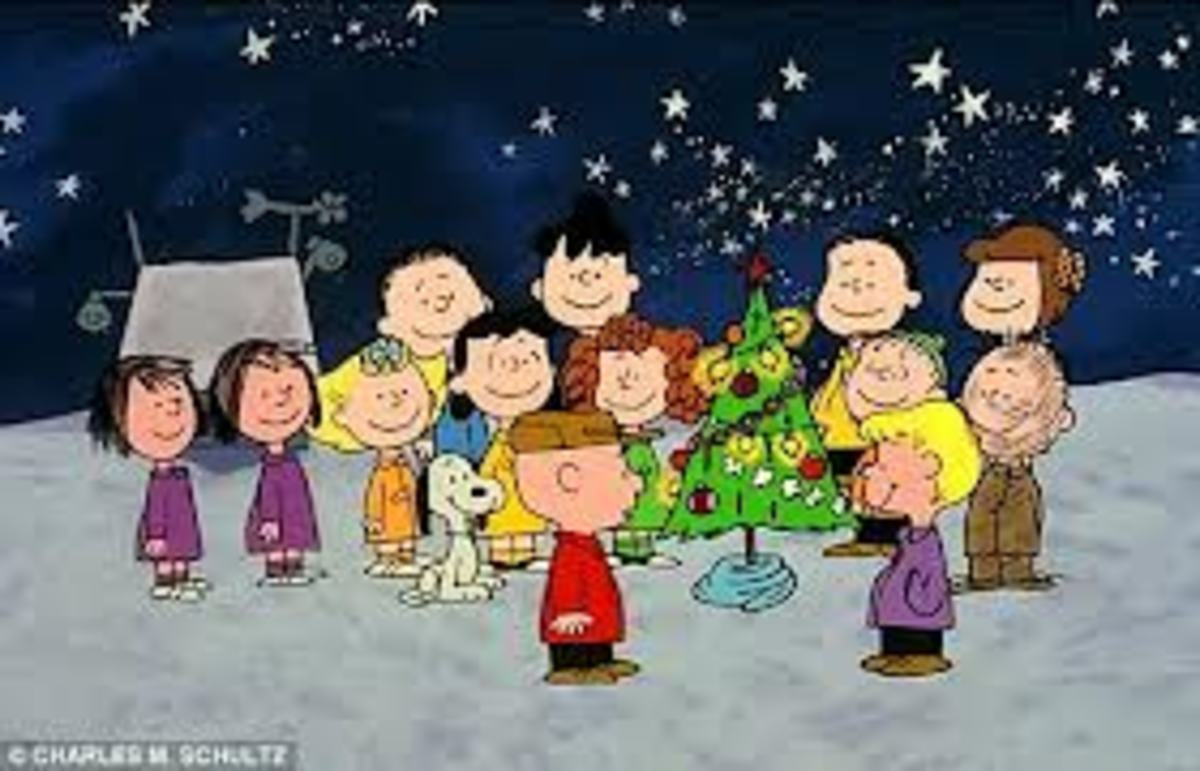 charlie brown celebrates christmas