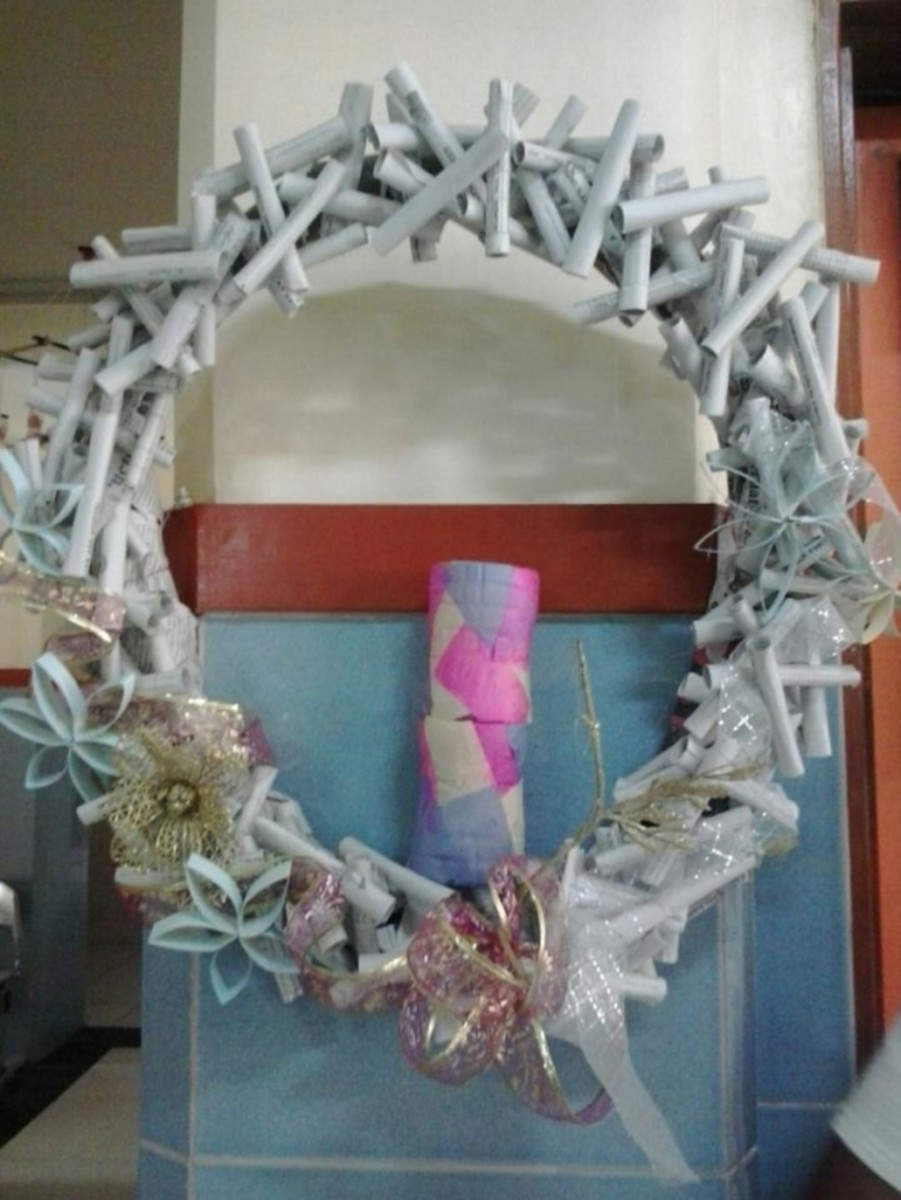 Christmas Decoration Ideas from Used Hospital Items ~ 222603_Christmas Door Decorating Ideas For Hospital