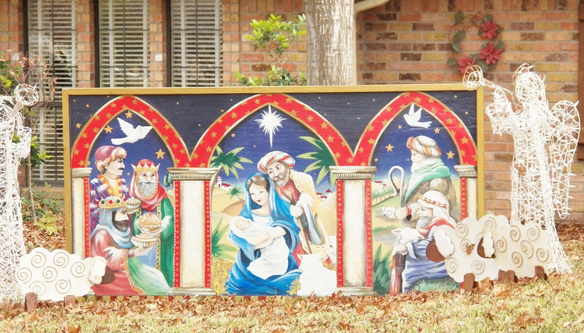 Christmas Nativity Scene Ideas
