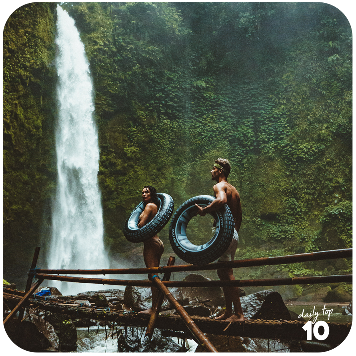 Go out for a hike at a nearby mountain or  go waterfalls chasing at the tropics!