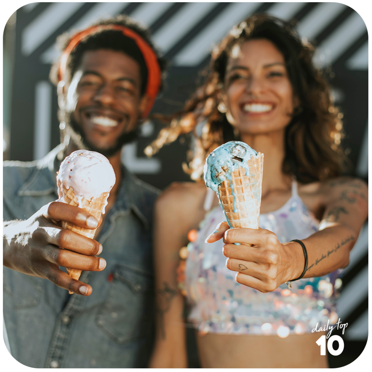 Ice cream is sweeter when shared with the one you love!