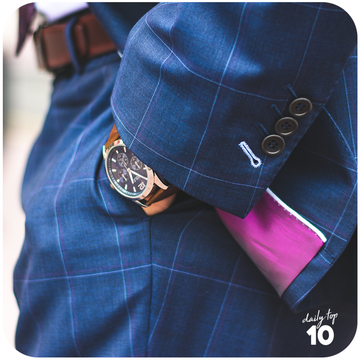 Choose a watch that perfectly matches with his style and lifestyle.