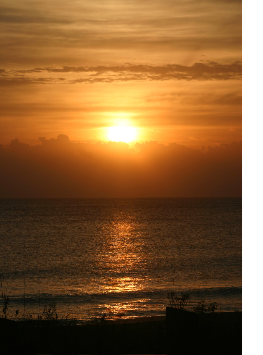 Every day starts with a new sunrise. Forget past failures and make a fresh start on your life
