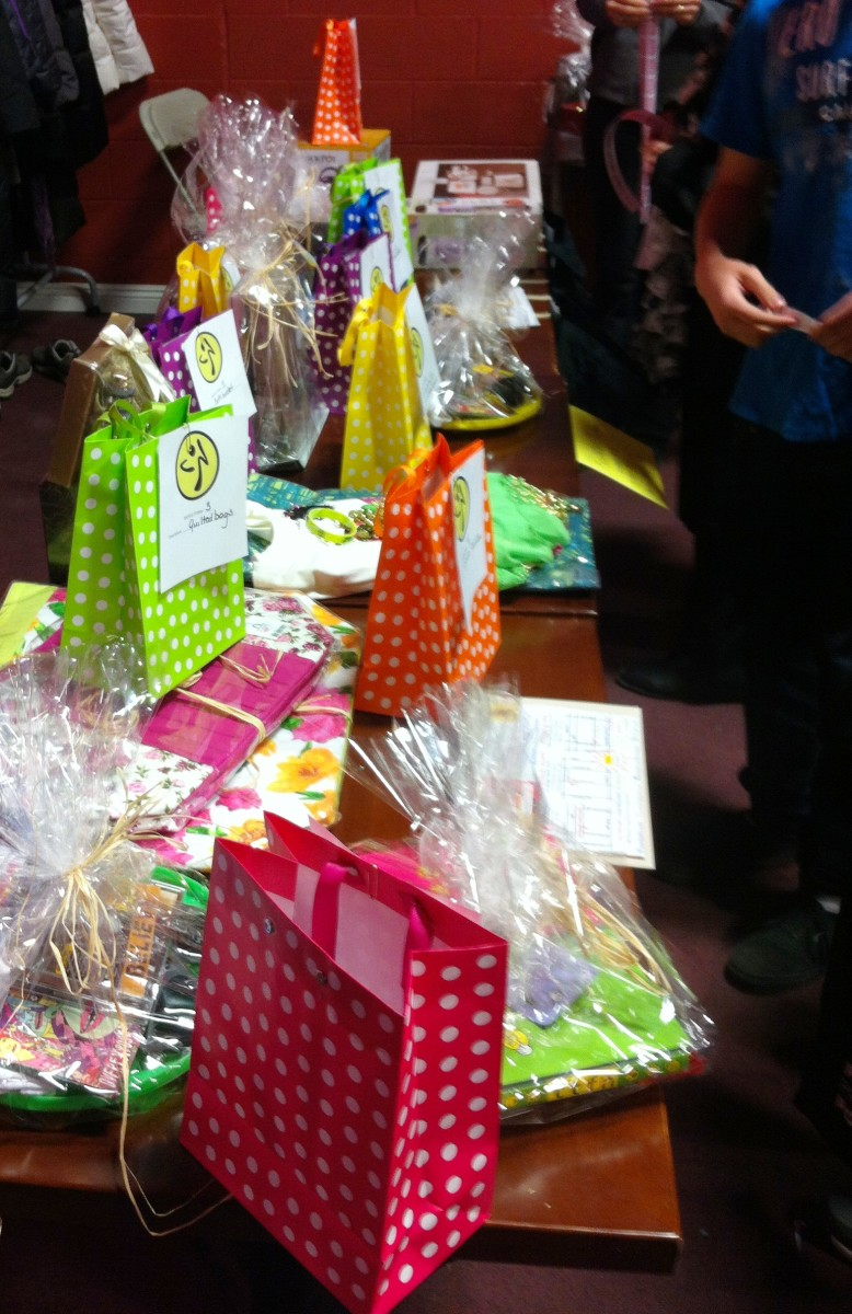 A raffle table can bring in extra money for your fundraiser, and add extra excitement to the event.