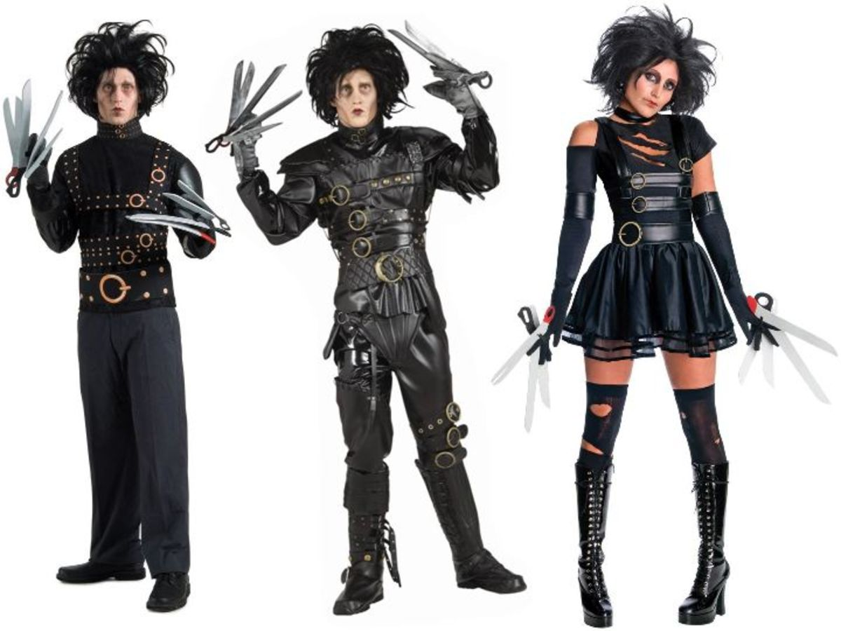 Adult Edward Scissorhands Costumes