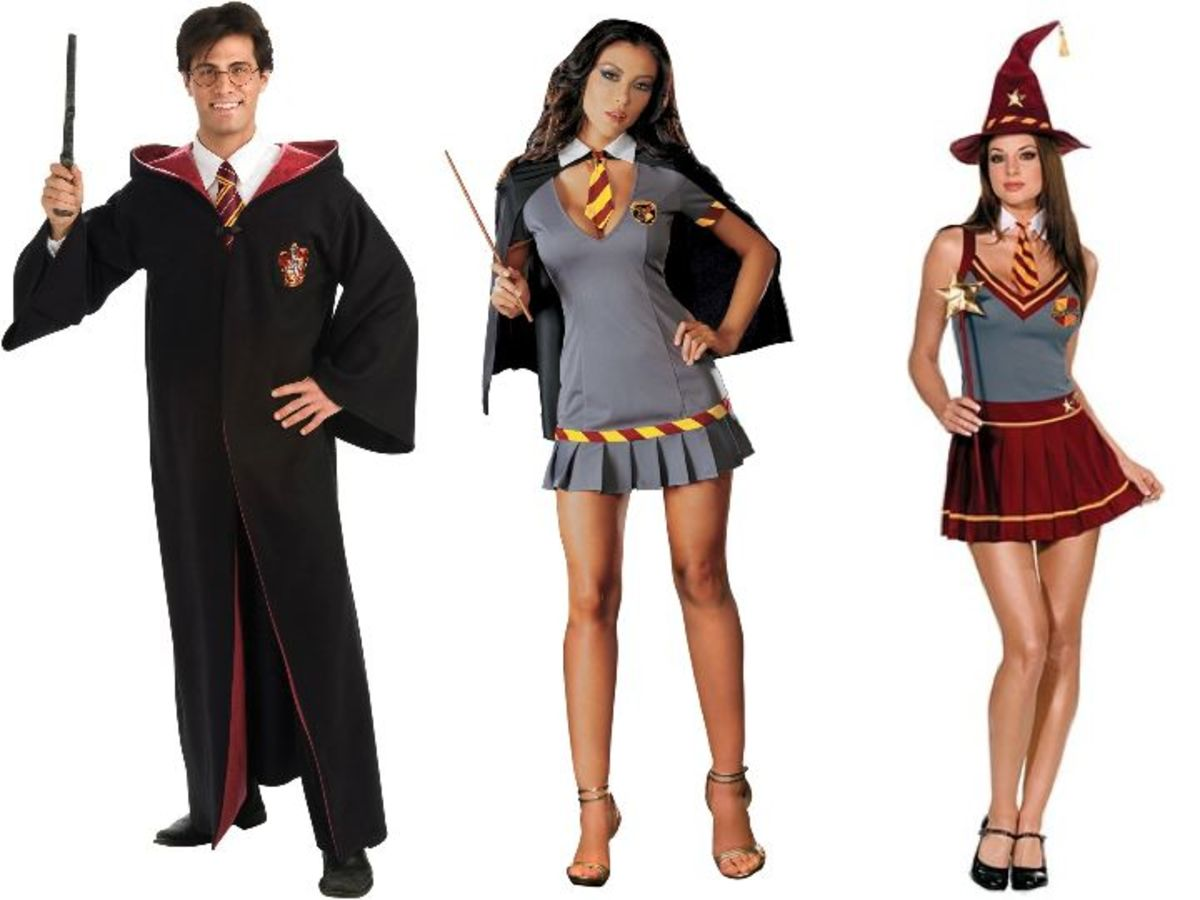 Adult Harry Potter Halloween Costumes