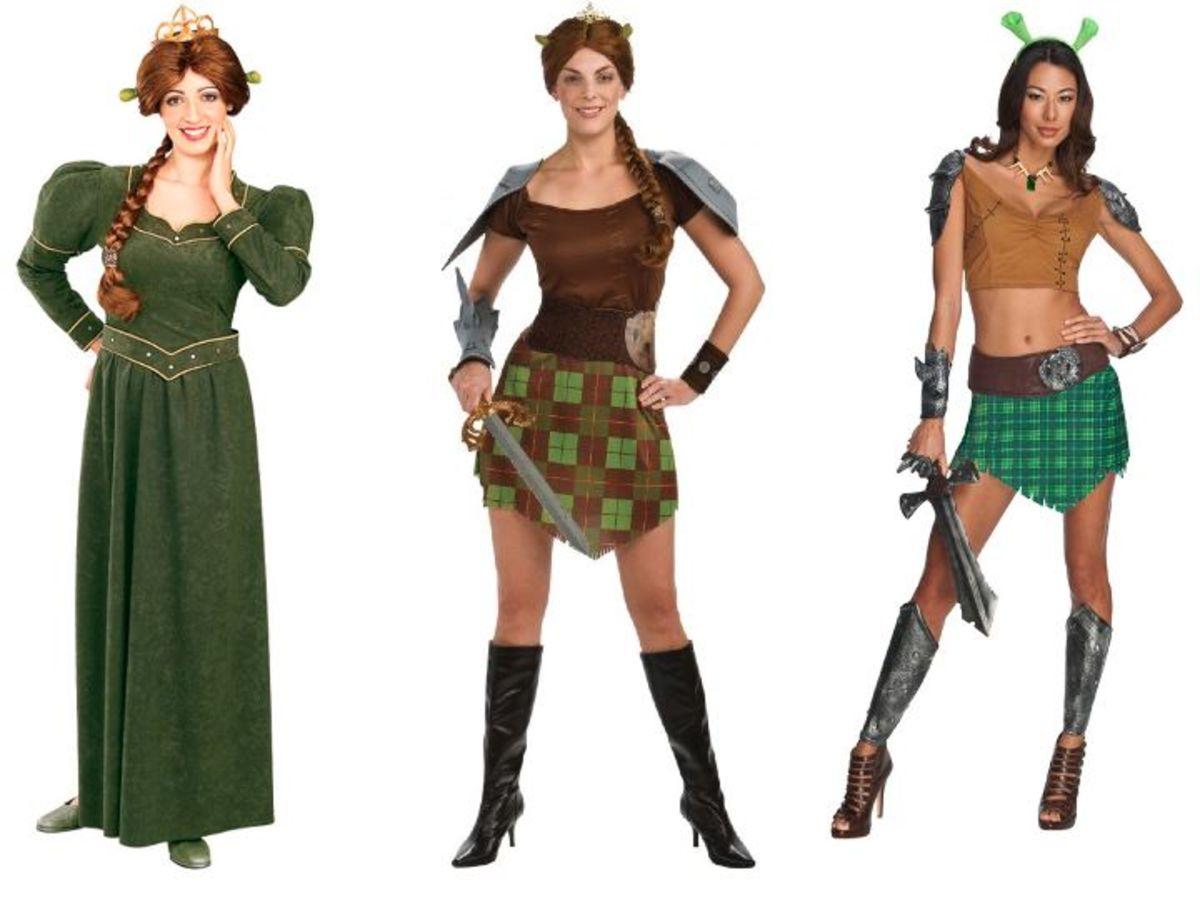 Adult Women Shrek Fiona Costume