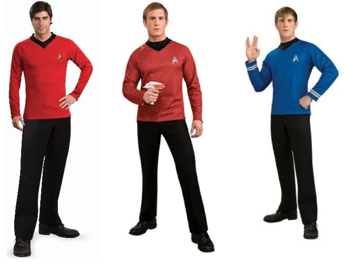 Men Star Trek Halloween Costumes