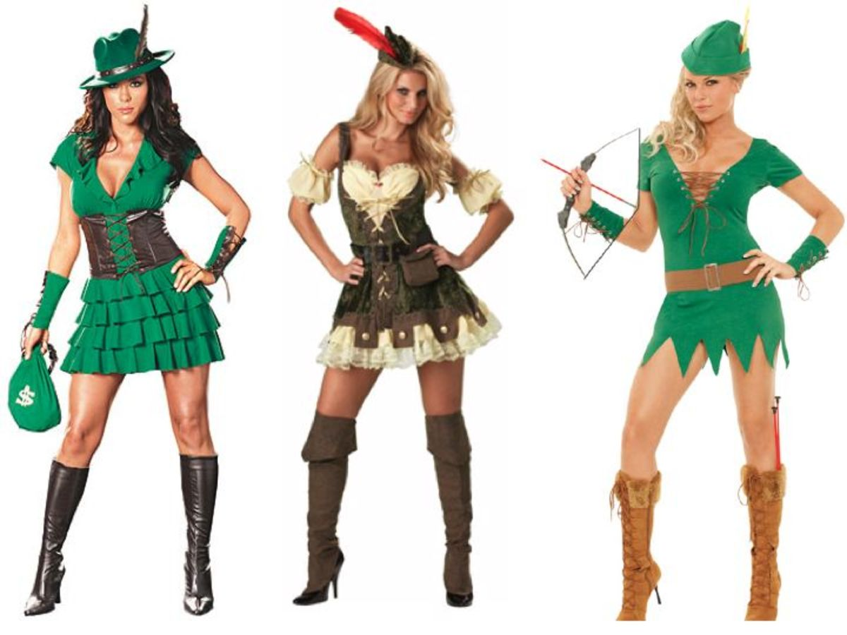 Women Robin Hood Halloween Costumes