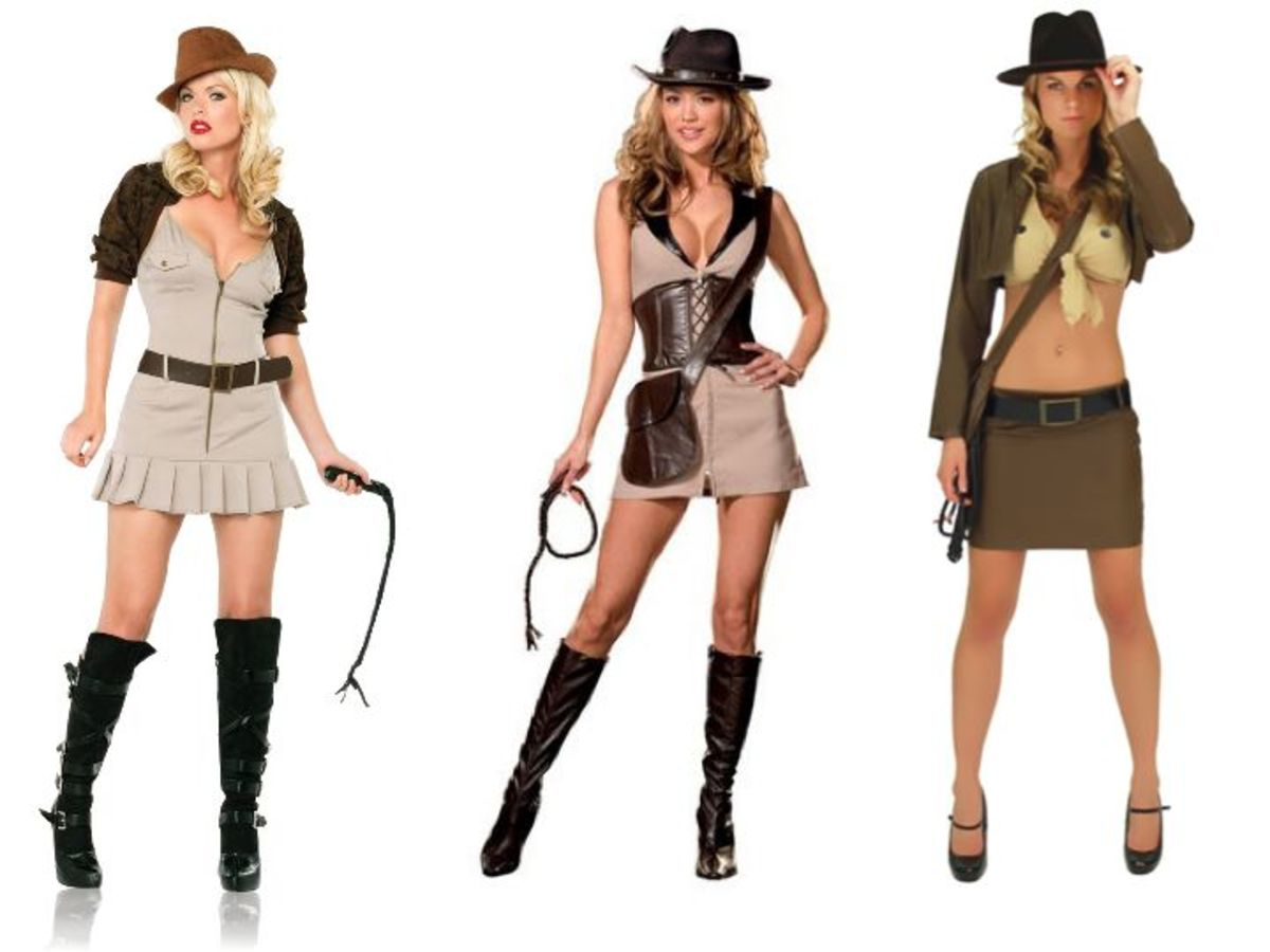 Adult Women Indiana Jones Costume