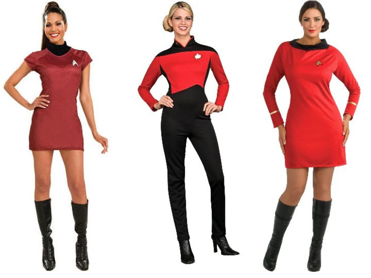 Women Star Trek Halloween Costumes