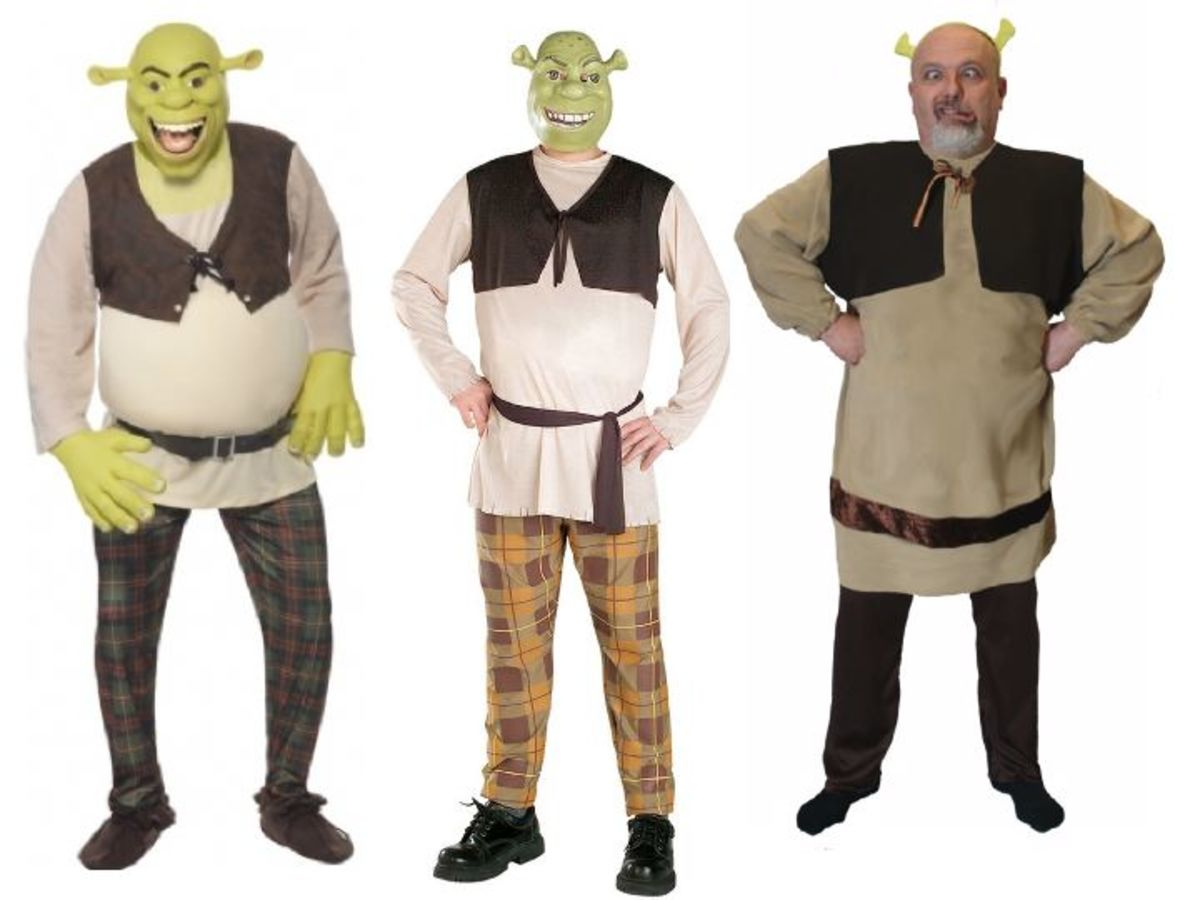 Adult Men Shrek Costumes