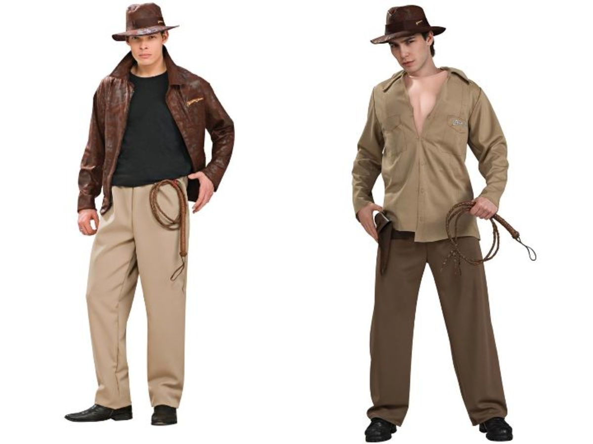 Adult Men Indiana Jones Costume