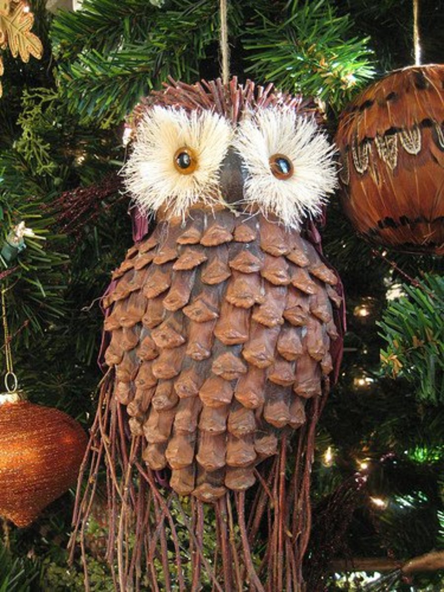 Easy Pine Cone Craft Projects Christmas Ornaments
