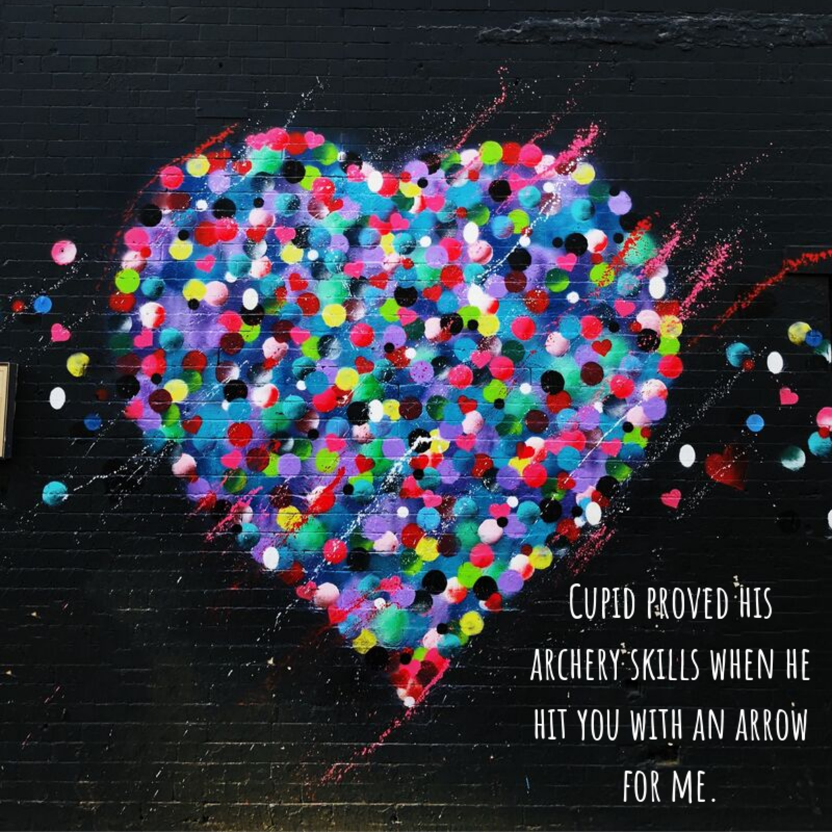 Your Valentine's message doesn't have to be long to be meaningful.