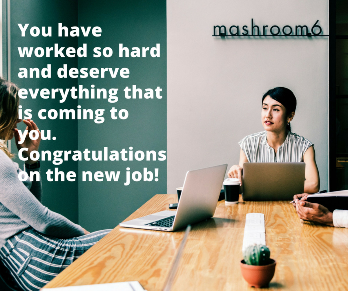 Congratulations on a New Job: Wishes, Messages, and Quotes for a