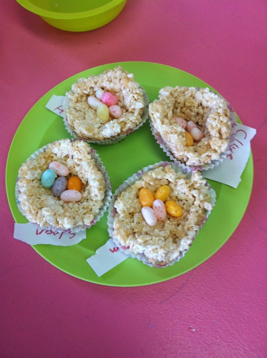 These edible bird nests are absolutely adorable.