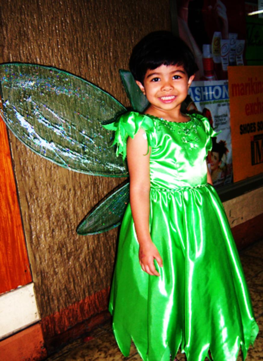 Make her proud. She feels like she's Tinkerbell!