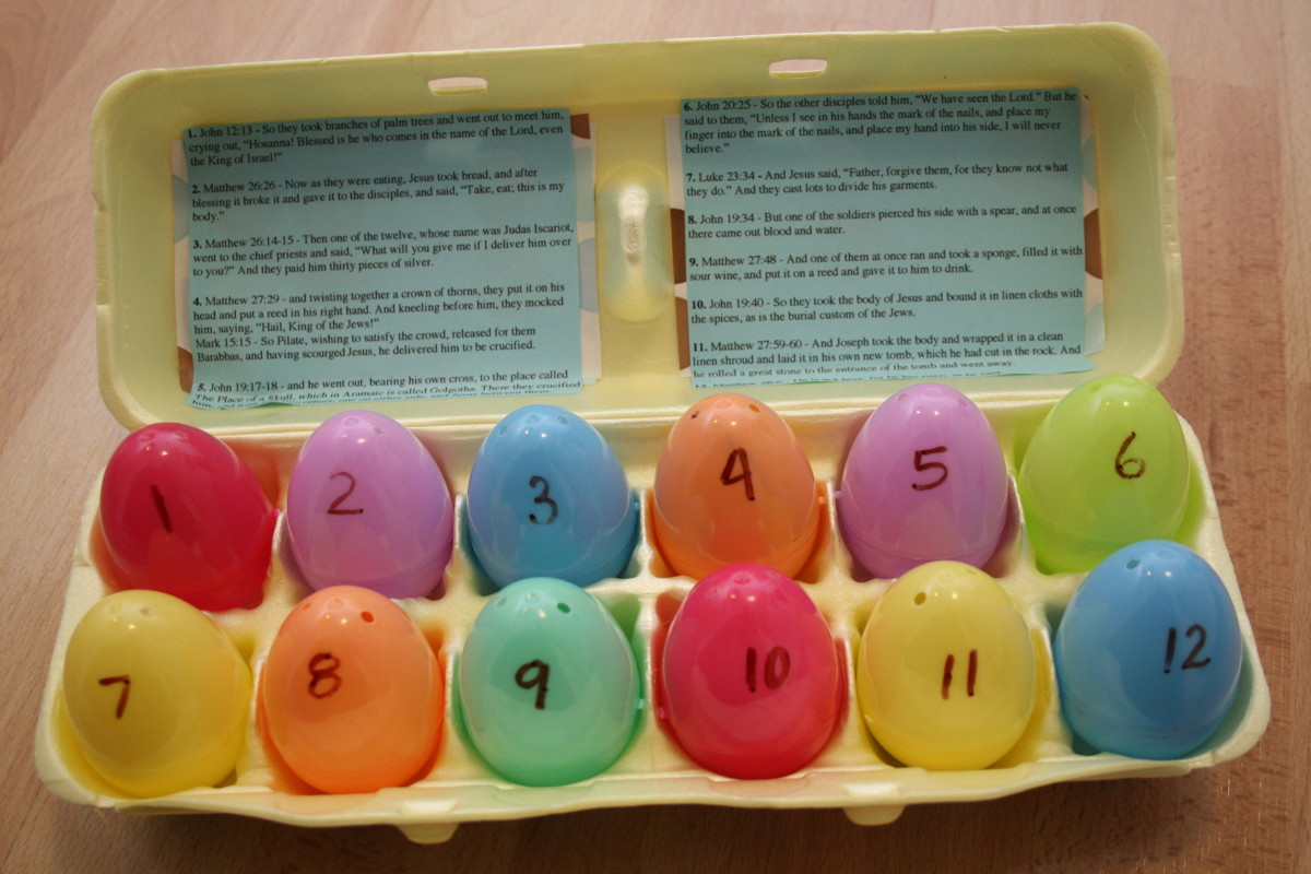 Resurrection Eggs: An Easter Activity for Kids