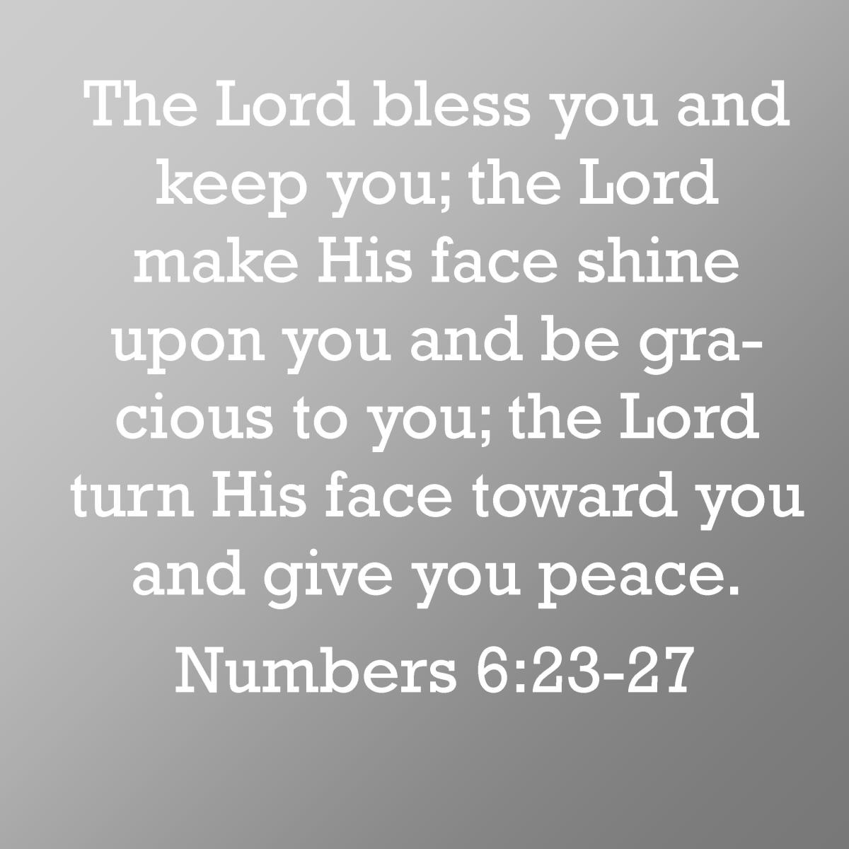 This Verse Is A Nice Way To Bestow Blessing Upon Someone As Birthday Wish