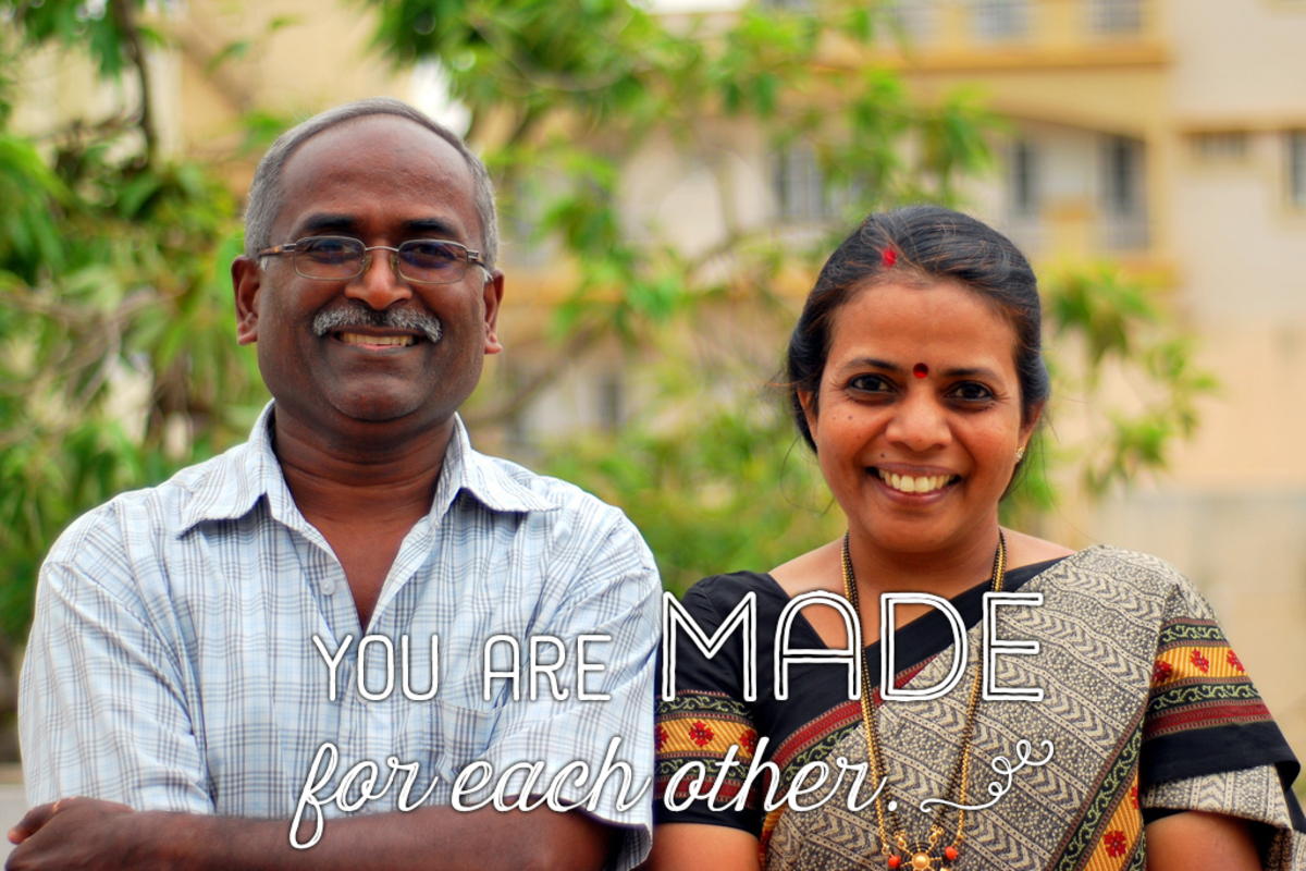 Anniversary wish for parents: You are made for each other.