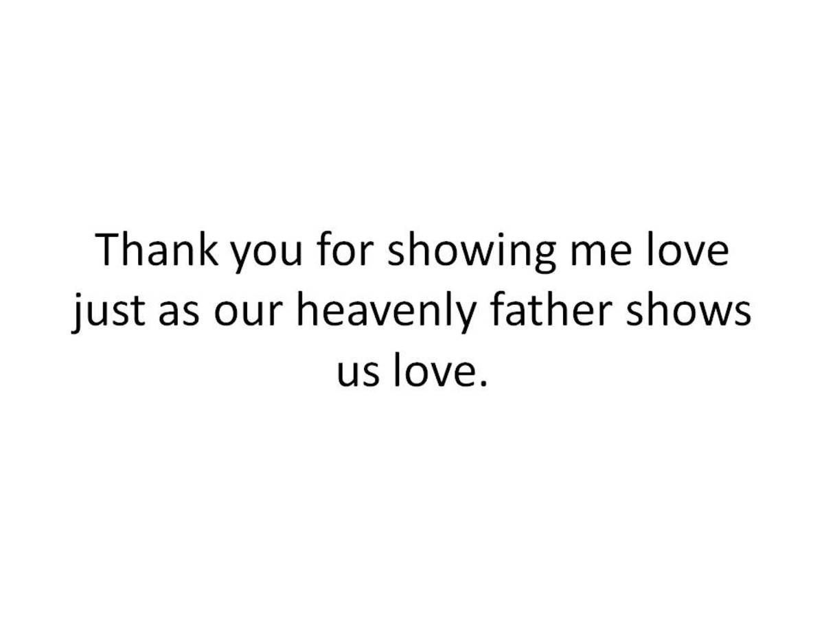Christian Father's Day Message Graphic