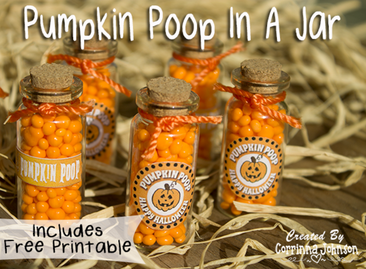 How To Make Pumpkin Poop In A Jar