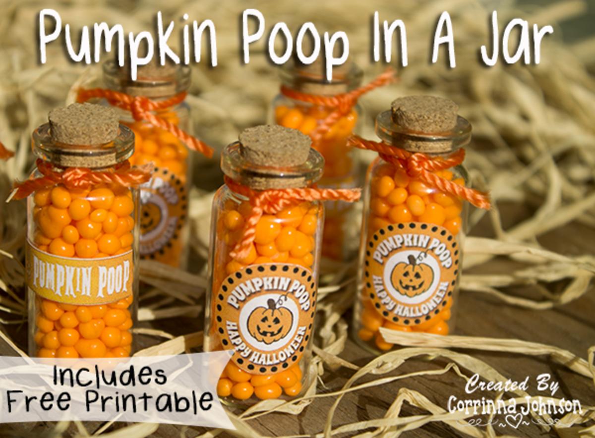 How To Make Pumpkin Poop In A Jar