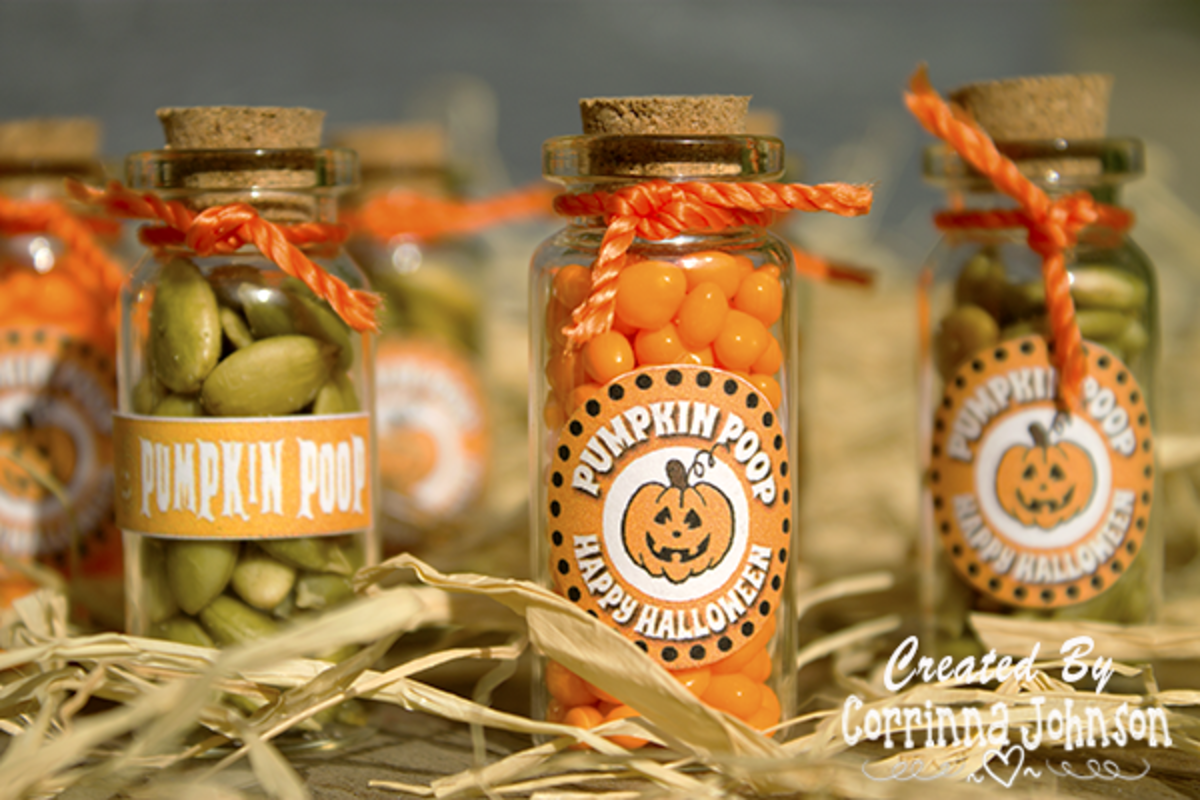 Pumpkin Poop in a Jar—Funny Halloween Treats