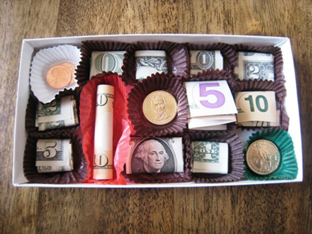 Creative ideas for gift wrapping money are especially important; it makes up for the lack of creativity of the present.