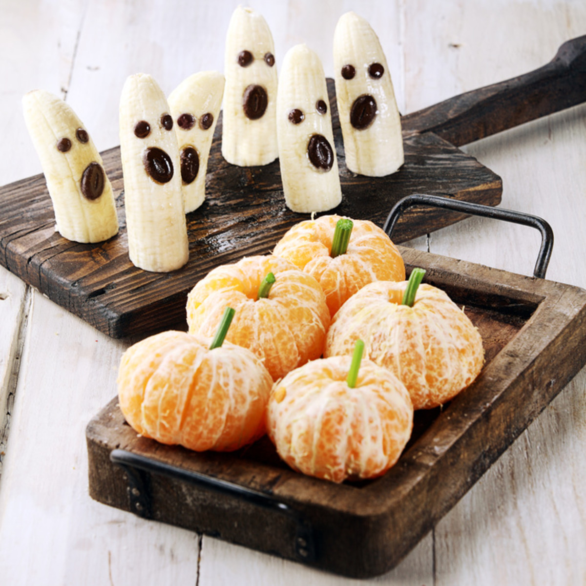 Healthy treats that will divert the kids' attention away from all that Halloween candy.