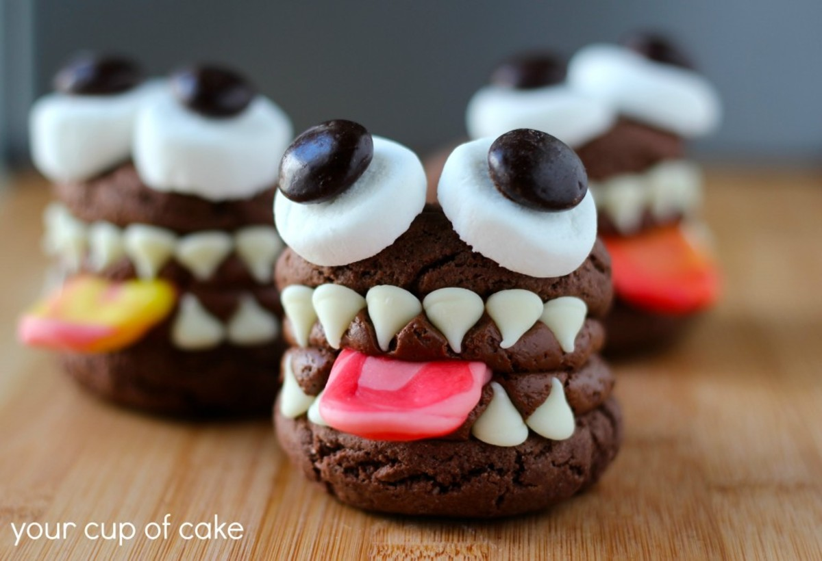 Monster Whoopie Pies for Halloween