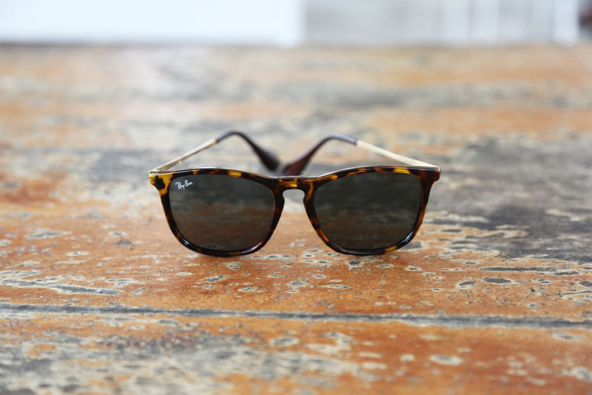 Wayfarer sunglasses never go out of style.