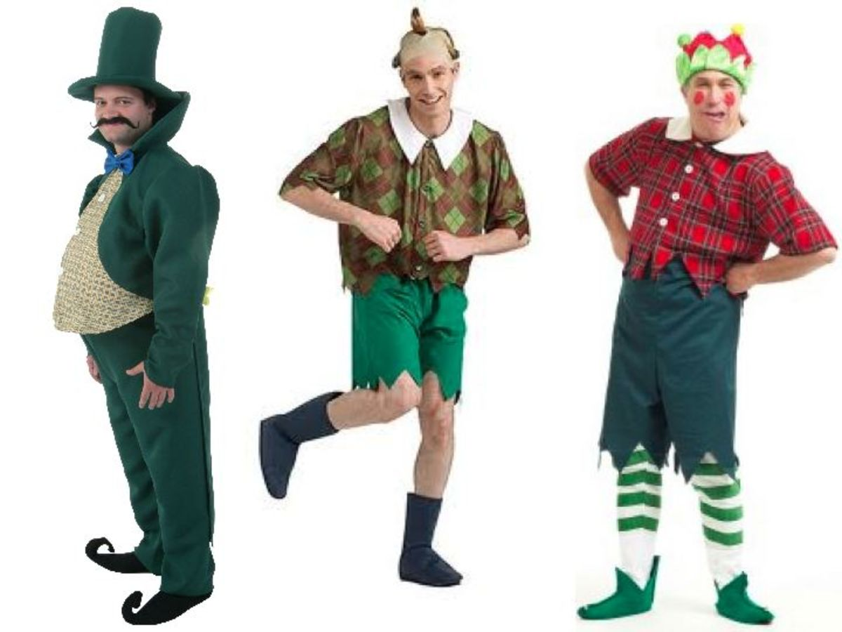 Men Munchkin Costumes from the Wizard Of Oz
