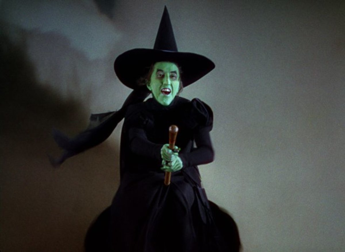 Margaret Hamilton as Wicked Witch of the West