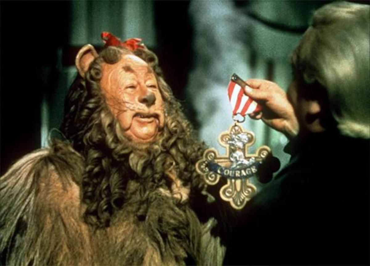 Bert Lahr as Cowardly Lion