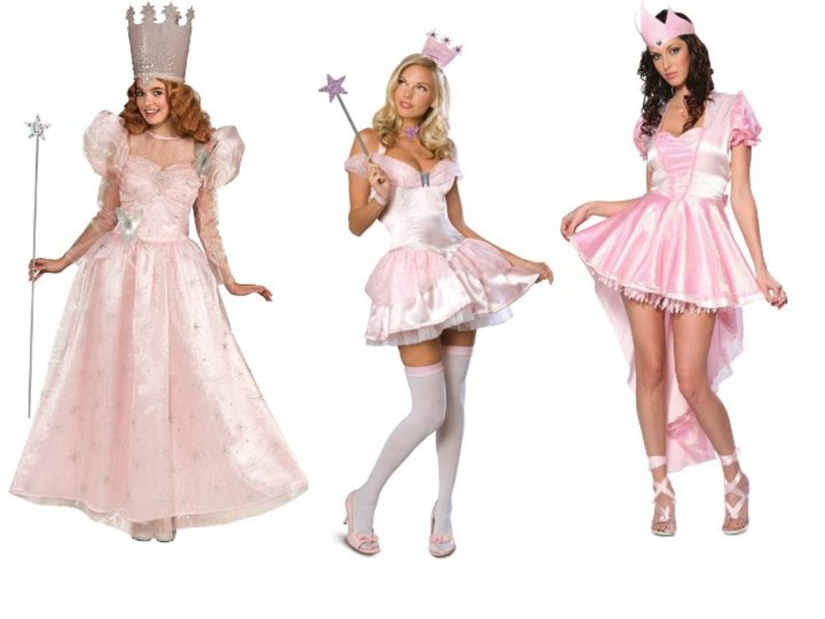 Glinda The Good Witch Costumes from the Wizard Of Oz