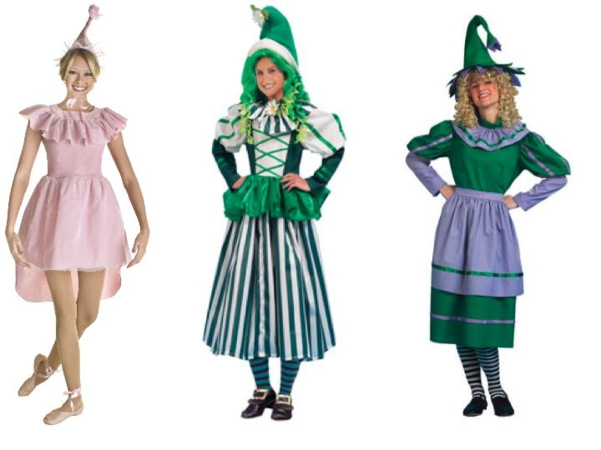 Women Munchkin Costumes from the Wizard Of Oz