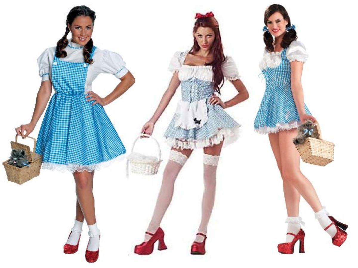 Adult Dorothy Halloween Costumes from Wizard of Oz