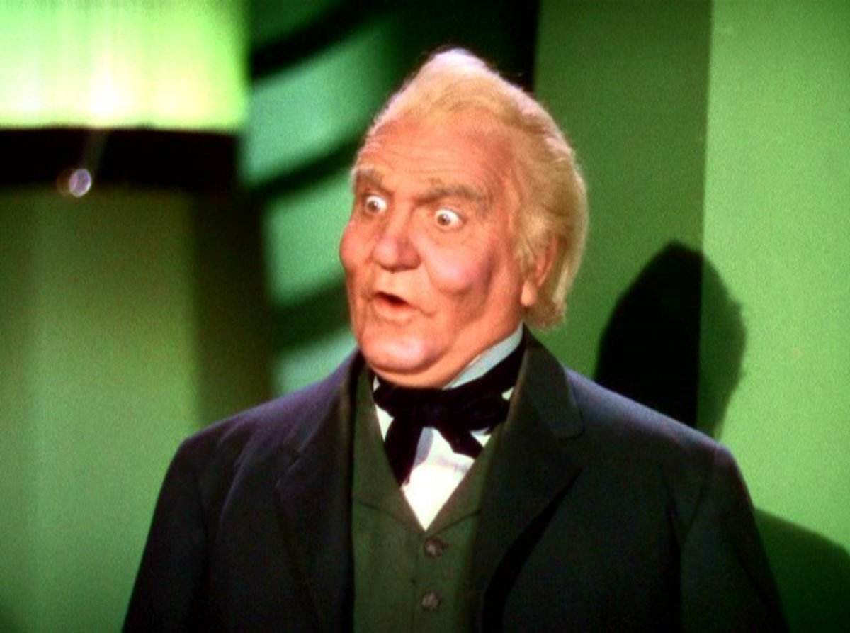 Frank Morgan as The Wizard of Oz