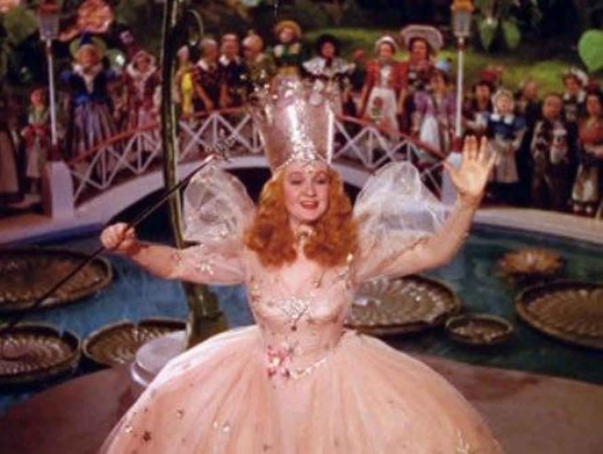 Billie Burke as Glinda the Good Witch