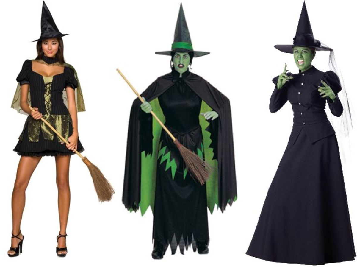 Wicked Witch of the West Halloween Costumes from the Wizard Of Oz