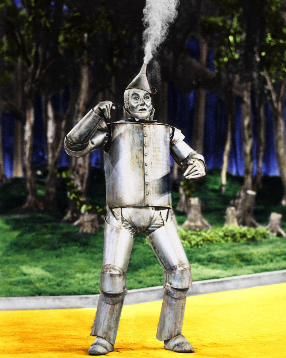 Jack Haley as Tin Man