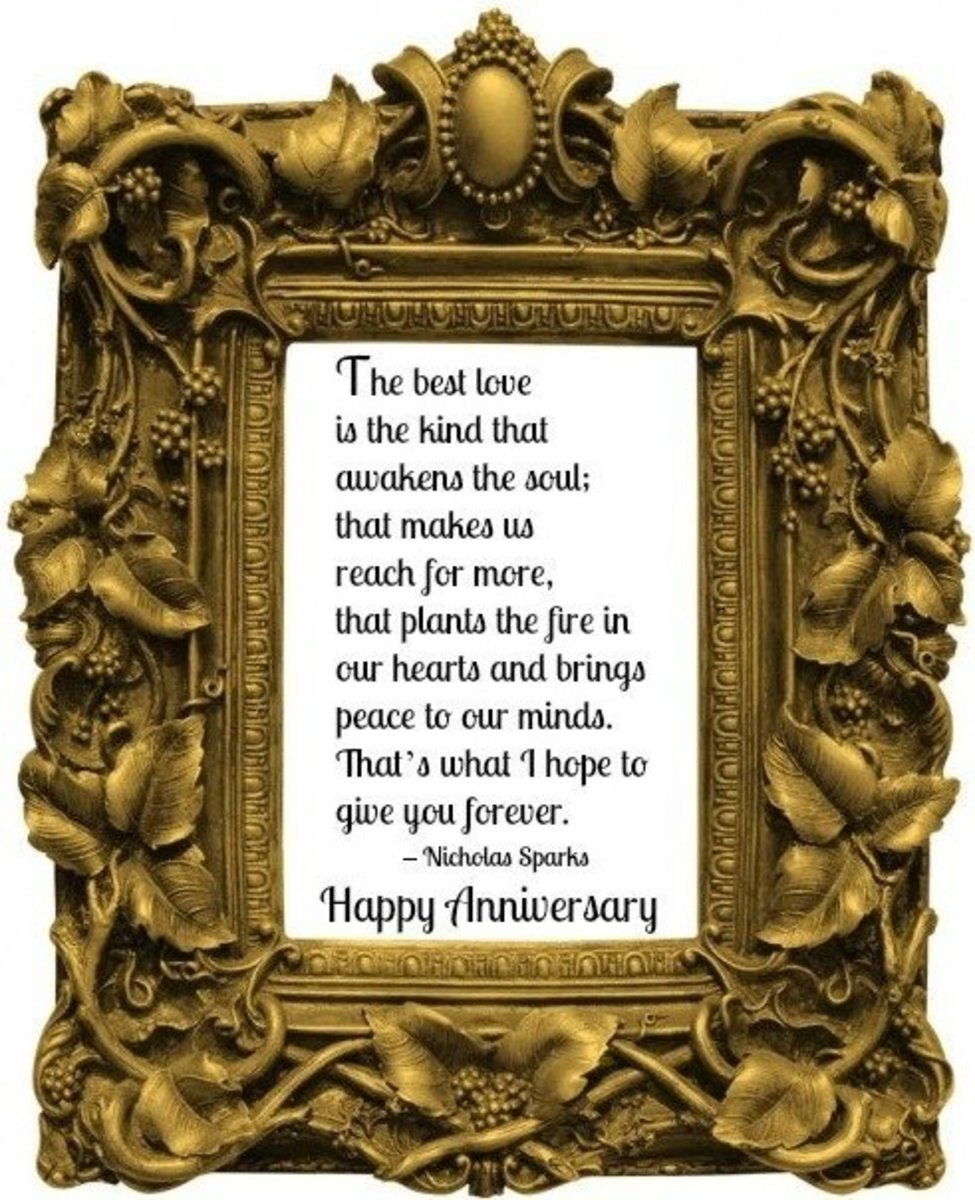 Wedding Anniversary Quotation
