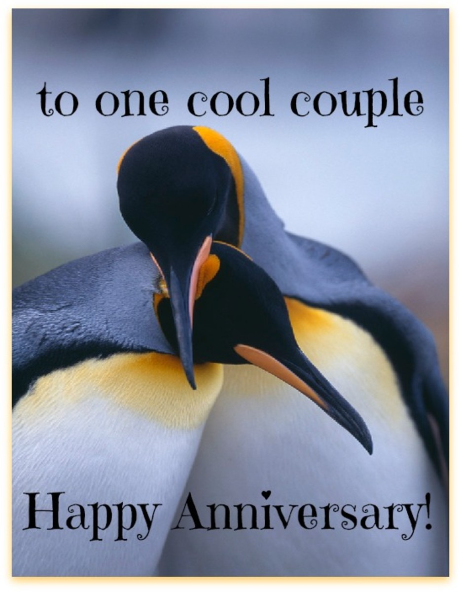 Anniversary wishes to couple
