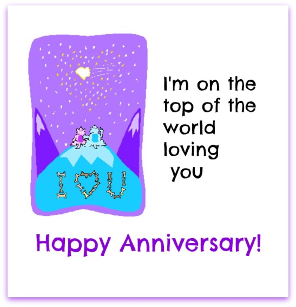 Happy Anniversary with Love to Spouse