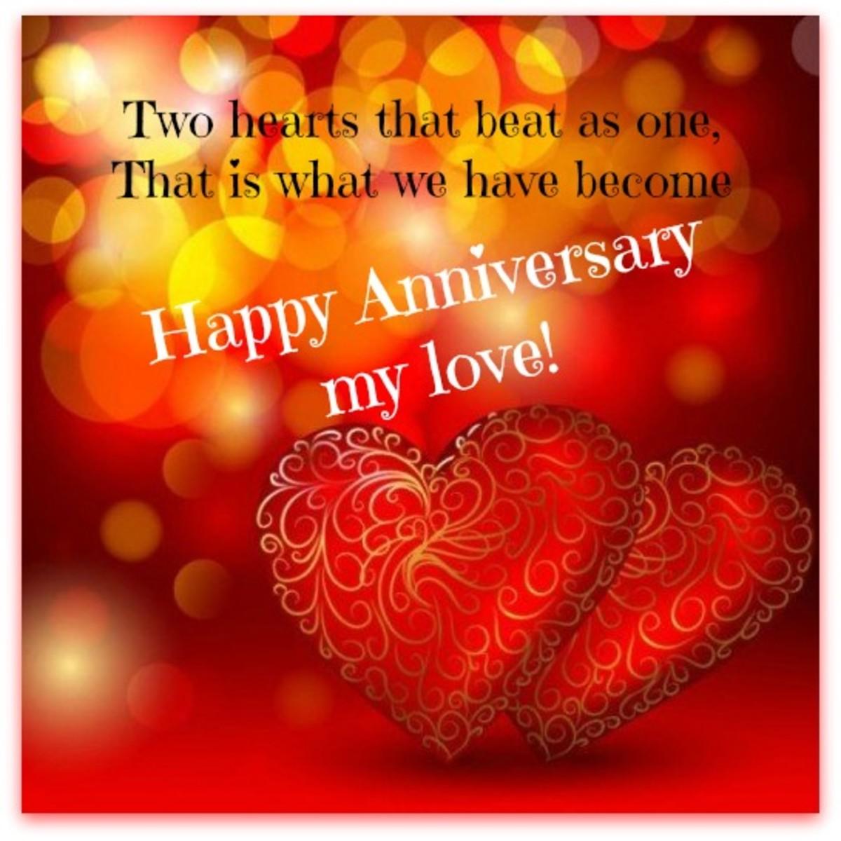 Happy Anniversary Poem