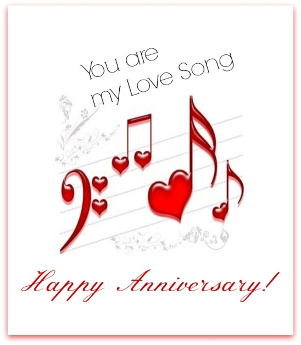 Love Song Anniversary Wish