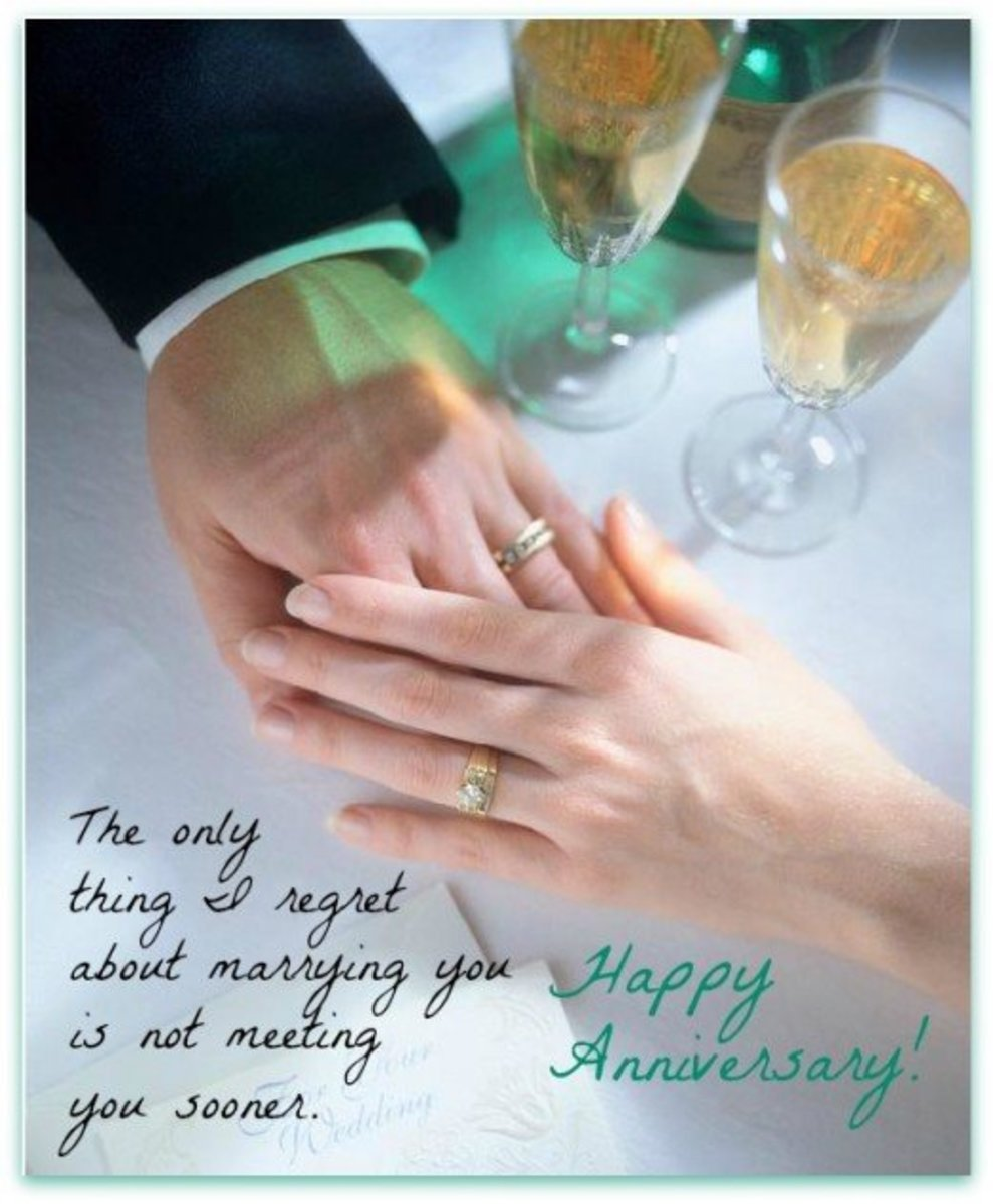Wedding Anniversary Gifts For Older Couple : Anniversary Wish for Mature Couple